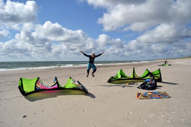 Danmark kitesurfing