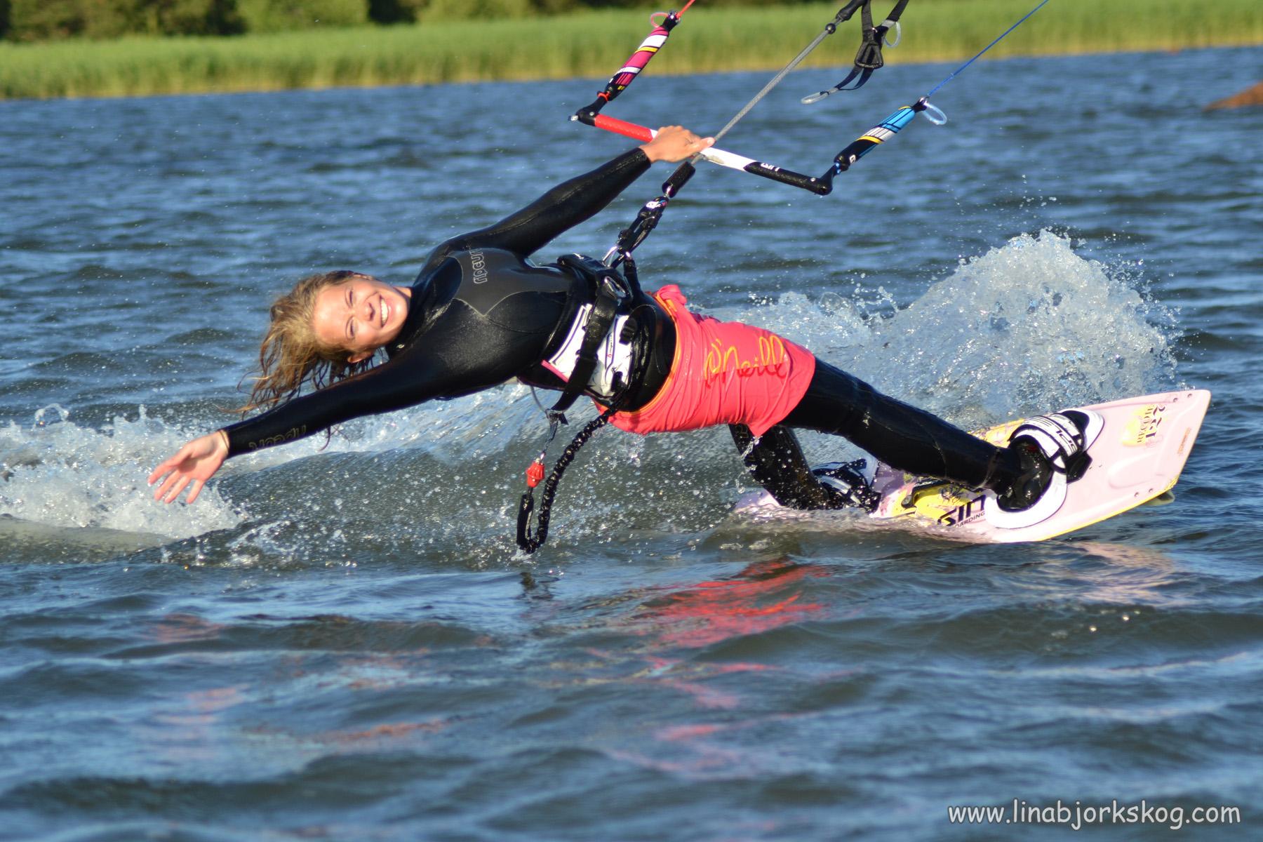 Sommarminnen av kitesurfing