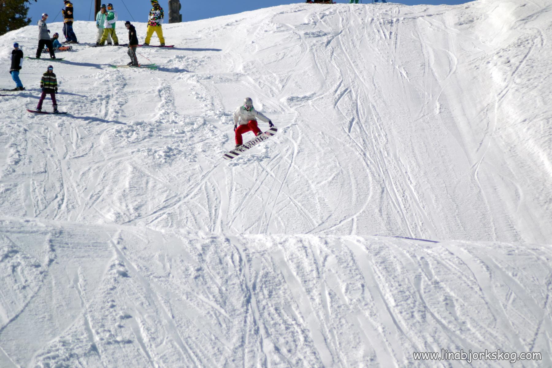 Snowboardresa till Ruka