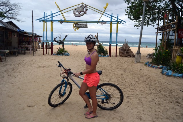 bike Puka beach