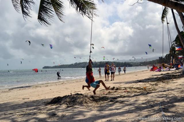 The Bulabog Kite beach