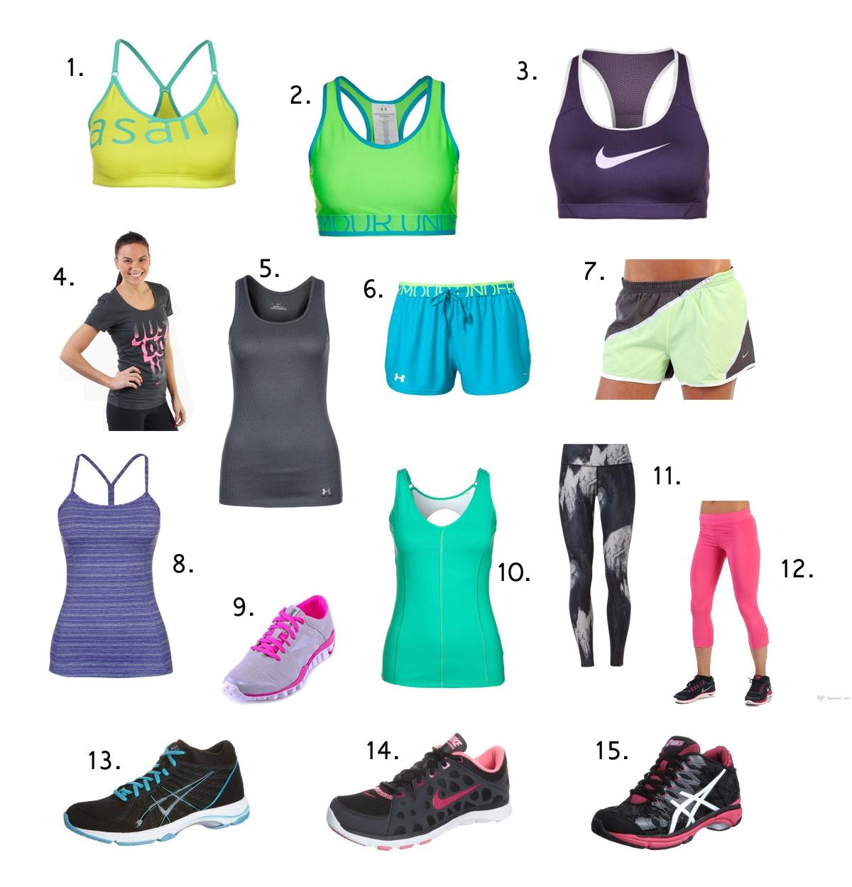 Inspirerande träningskläder för inomhusträning
