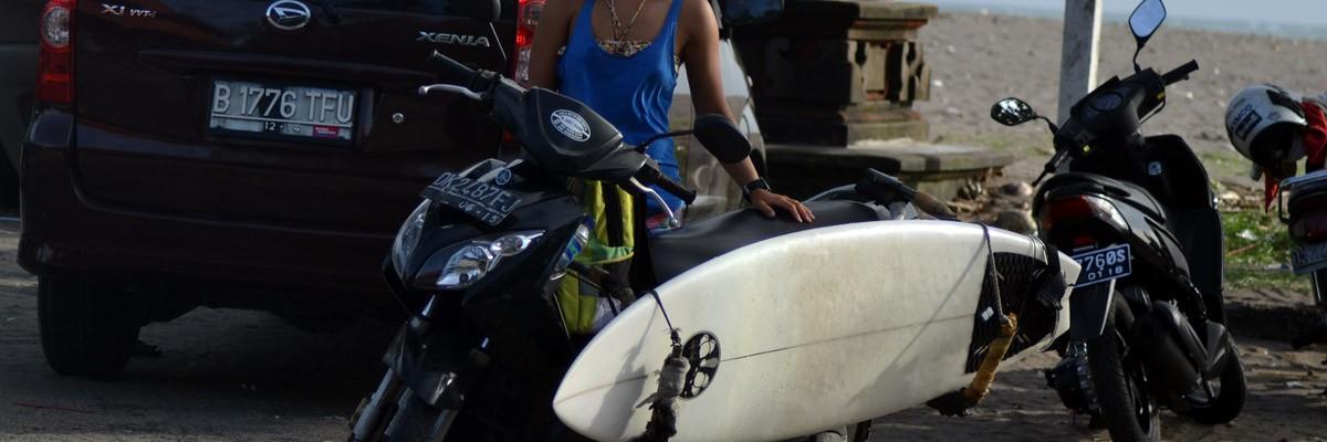 Kitesurfing och vågsurfing i Cangu