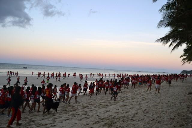 Milloin Volunteer Run Boracay