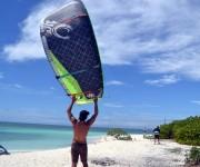 Launching av kite