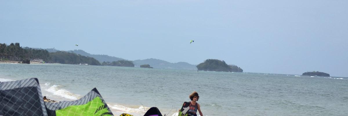 Kiteäventyr på Union Beach