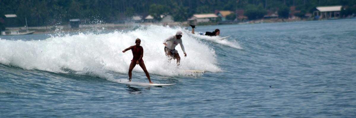 Bästa surfet på Lombok