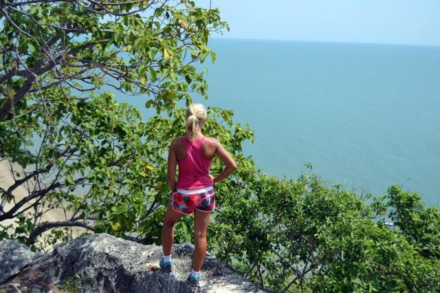 klättring utsikt hav
