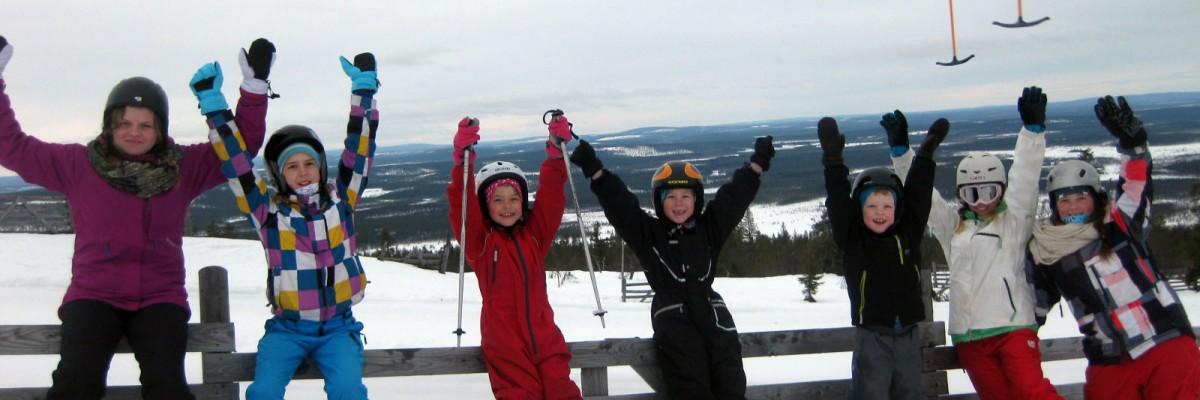 Snowboard i Levi