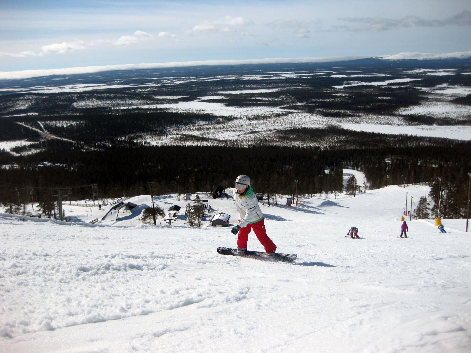 snowboard levi