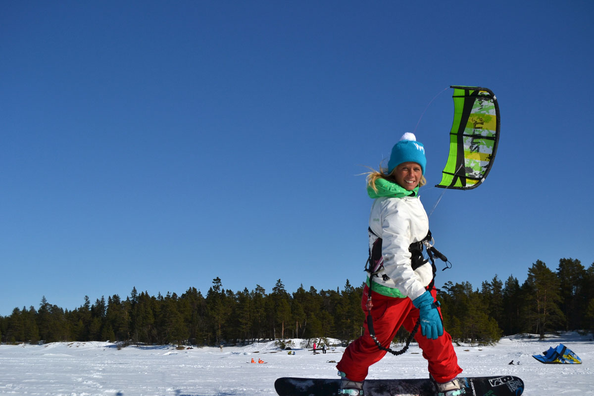 snowkite Fäboda