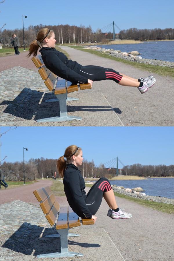 bänk utomhus ~ träning utomhus tips på träningsprogram