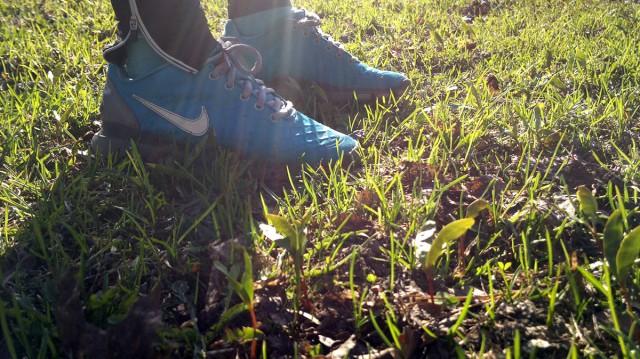 löpning gräs