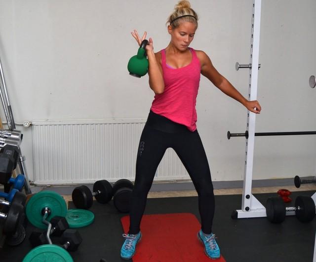 Kettlebell variera träningen