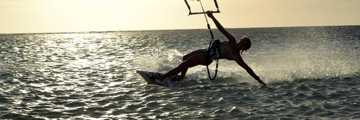 Kitesurfing för nybörjare