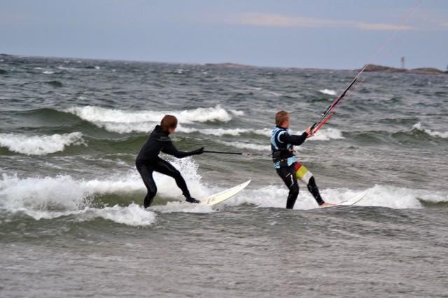 surfing med kite