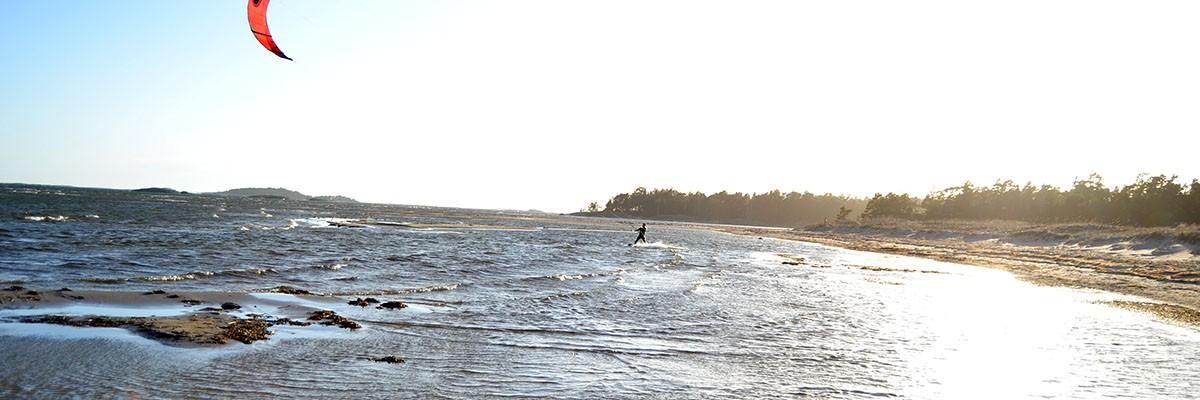 Ny kitesurfingblogg på engelska!