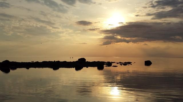 Solnedgång Kalajoki