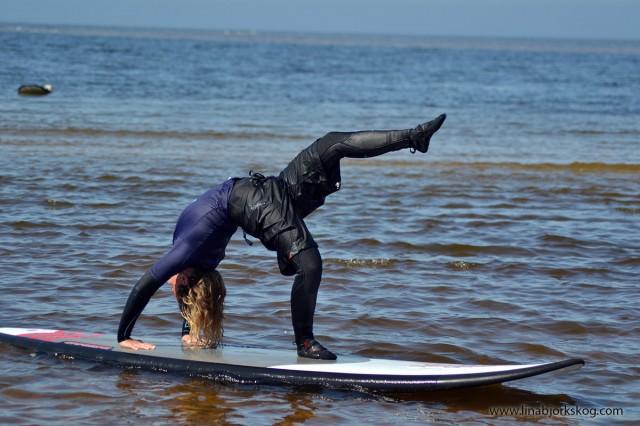 SUP-yoga brygga