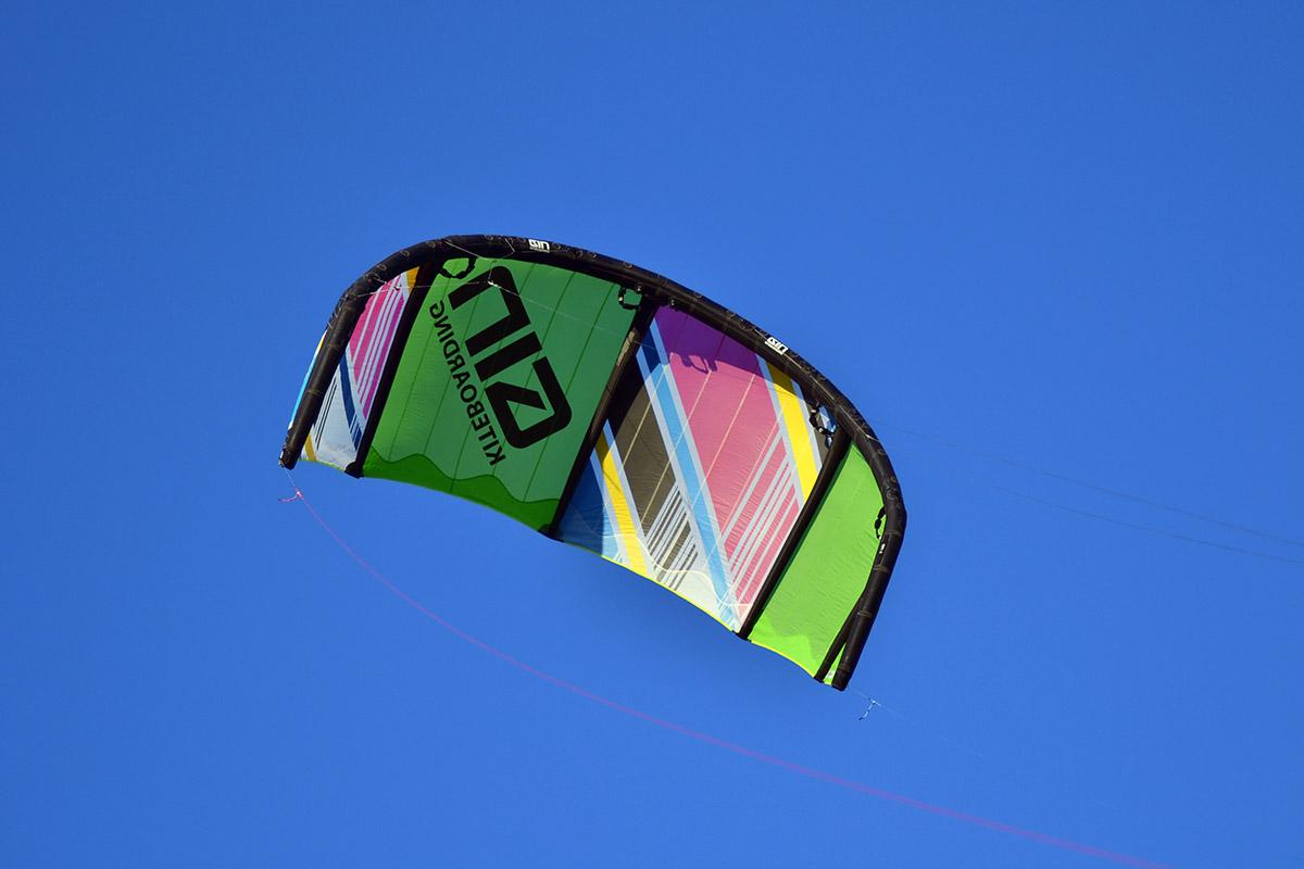 Sommarstädning i kiteförrådet
