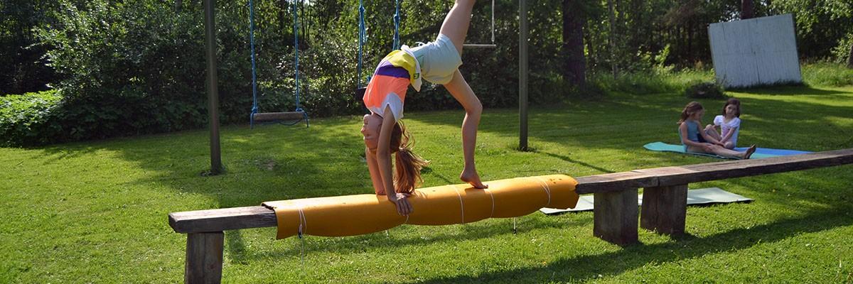 Gymnastisk träning – mitt mål för sommaren