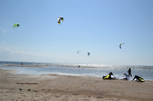 Kitesurfing vid Lohtaja