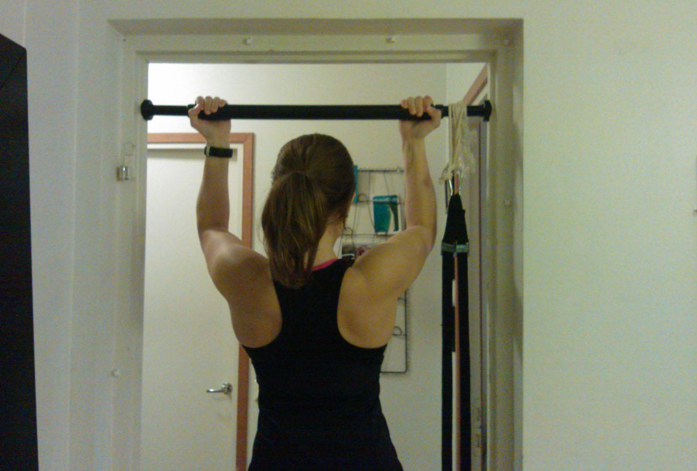 Veckans utmaning: Lär dig pull-ups