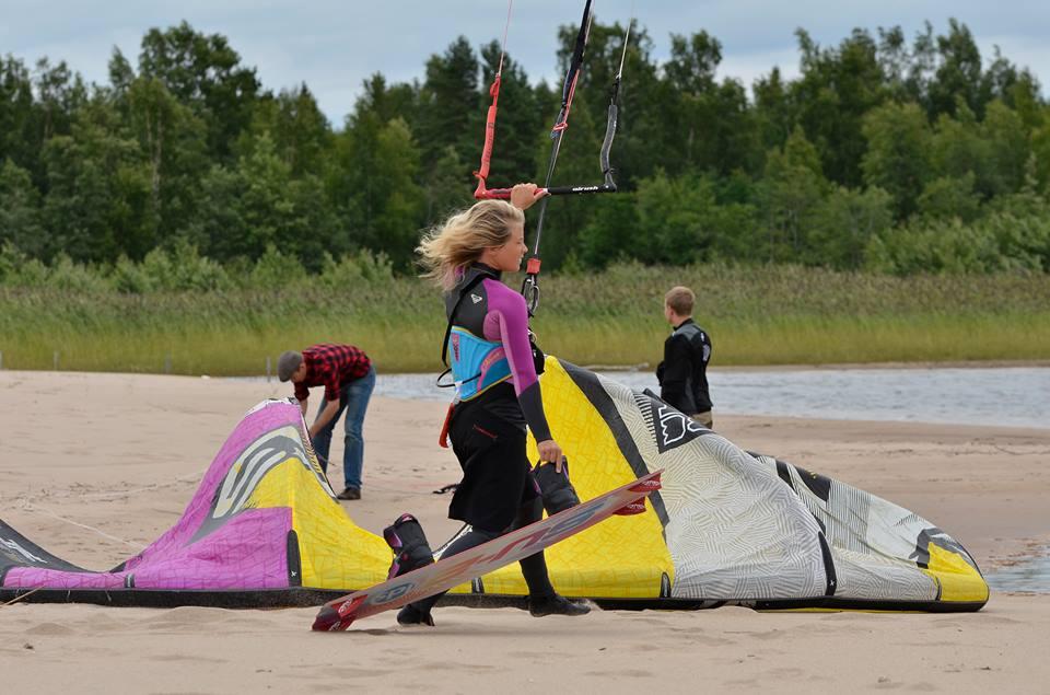 En blåsig update – kitesurfingsemester