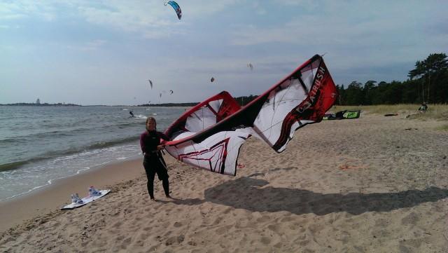 Alla kan lära sig kitesurfing