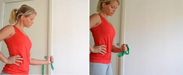 inåtrotation skadeförebyggande axlar övningar