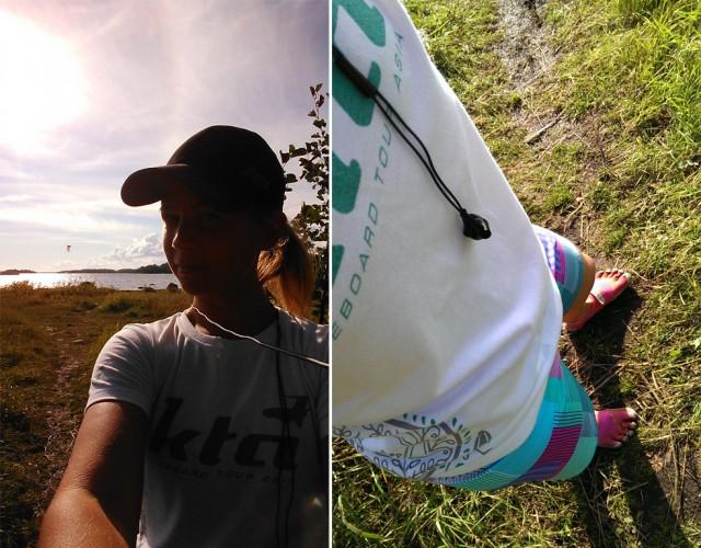 löpning kite