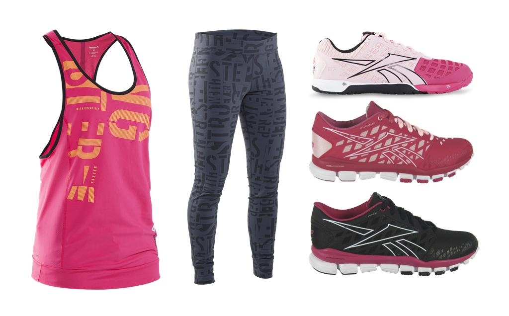 Sponsrad video – Reebok Fitness Trainer app