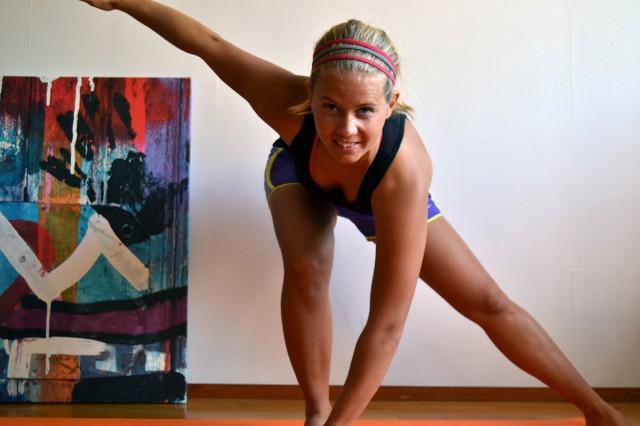 Jag gillar att träna, och vill att andra också ska göra det!
