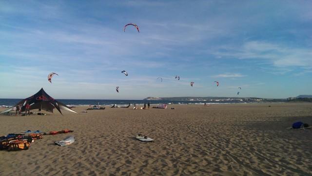 Costa brava kitesurfing