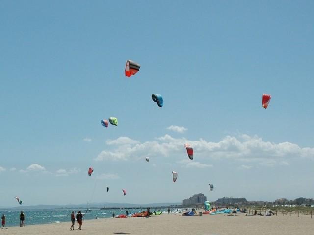 kitesurfing costa brava