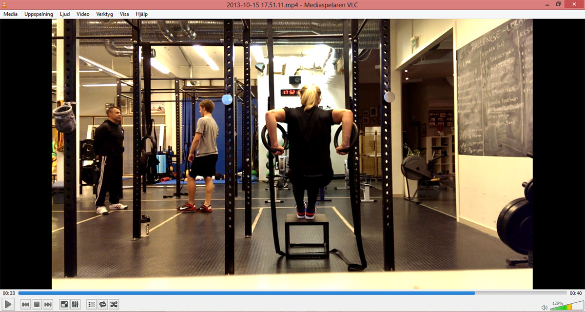 Crossfit-pass på nya gymmet