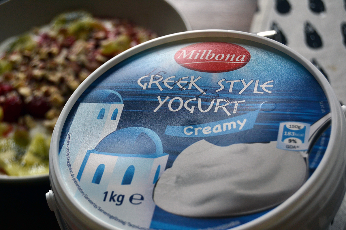 grekisk yoghurt