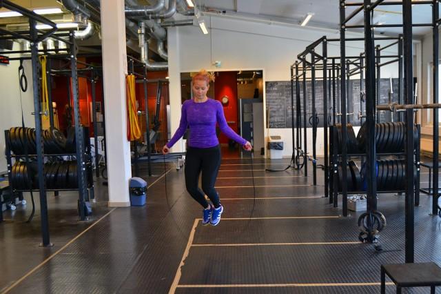 Crossfit AMRAP träningspass