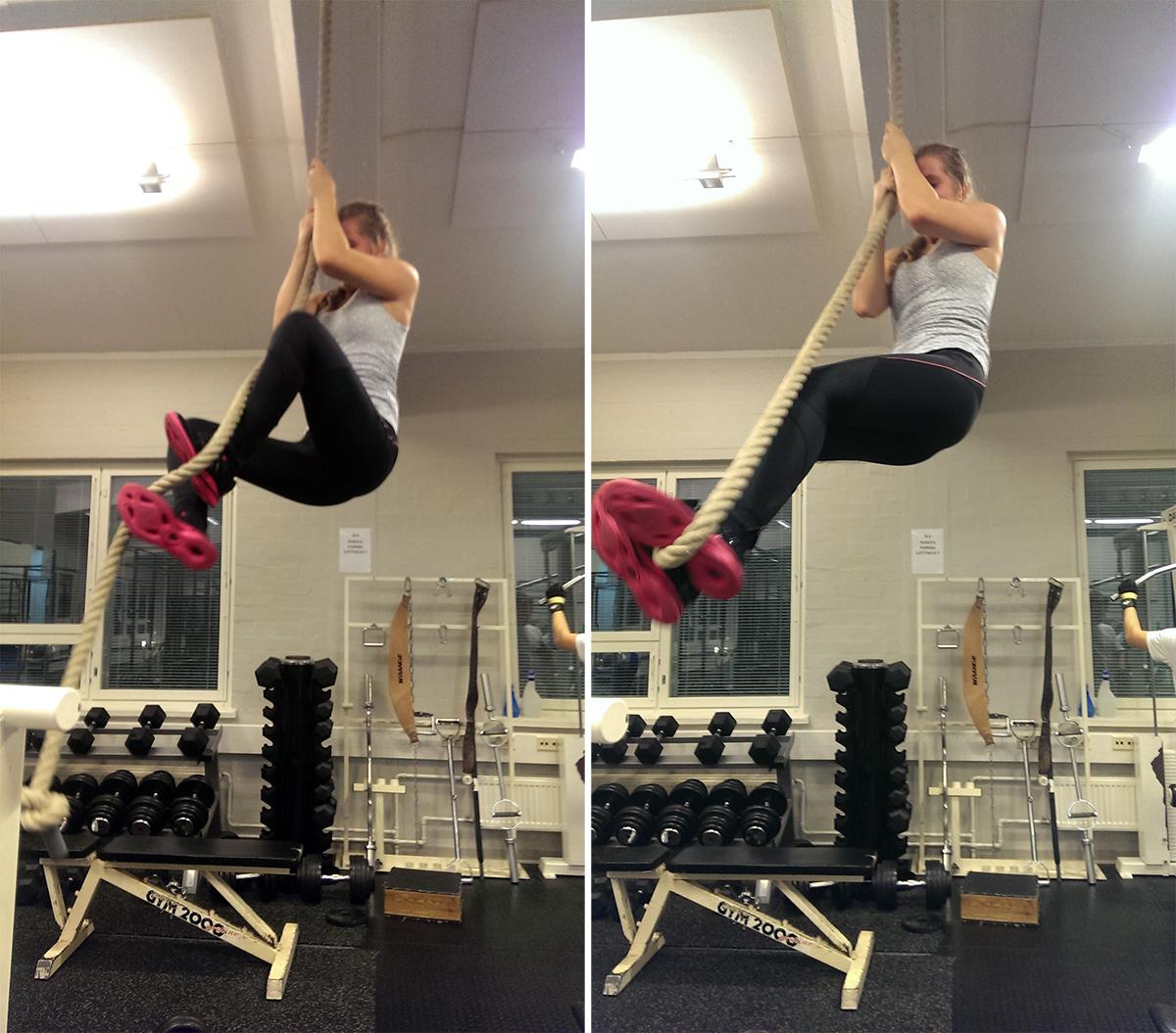Lär dig klättra i rep!