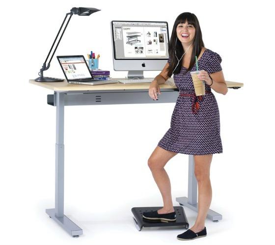 stående skrivbord ergonomi