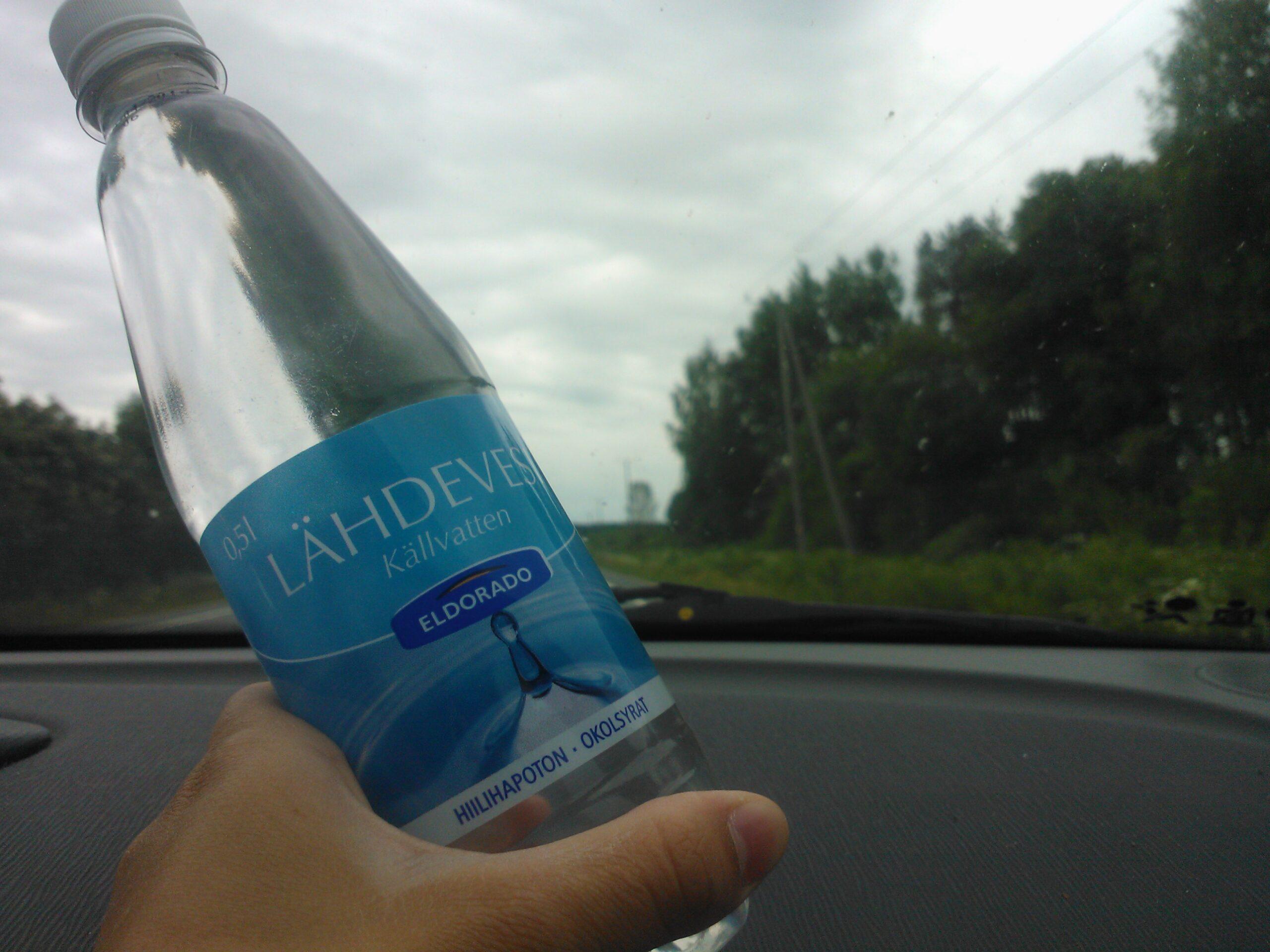 Kom ihåg vattnet!