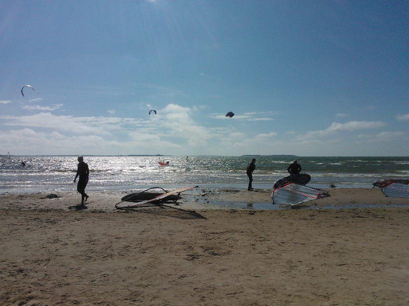 Kitesurfing i Yyteri