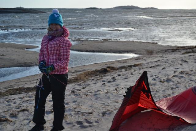 Kitesurfing Hangö