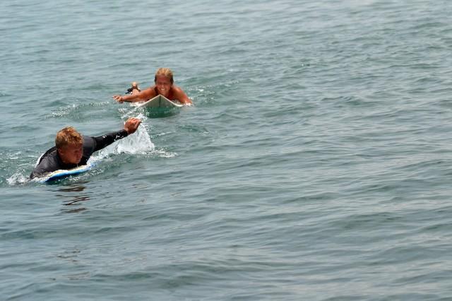 surfing på lombok