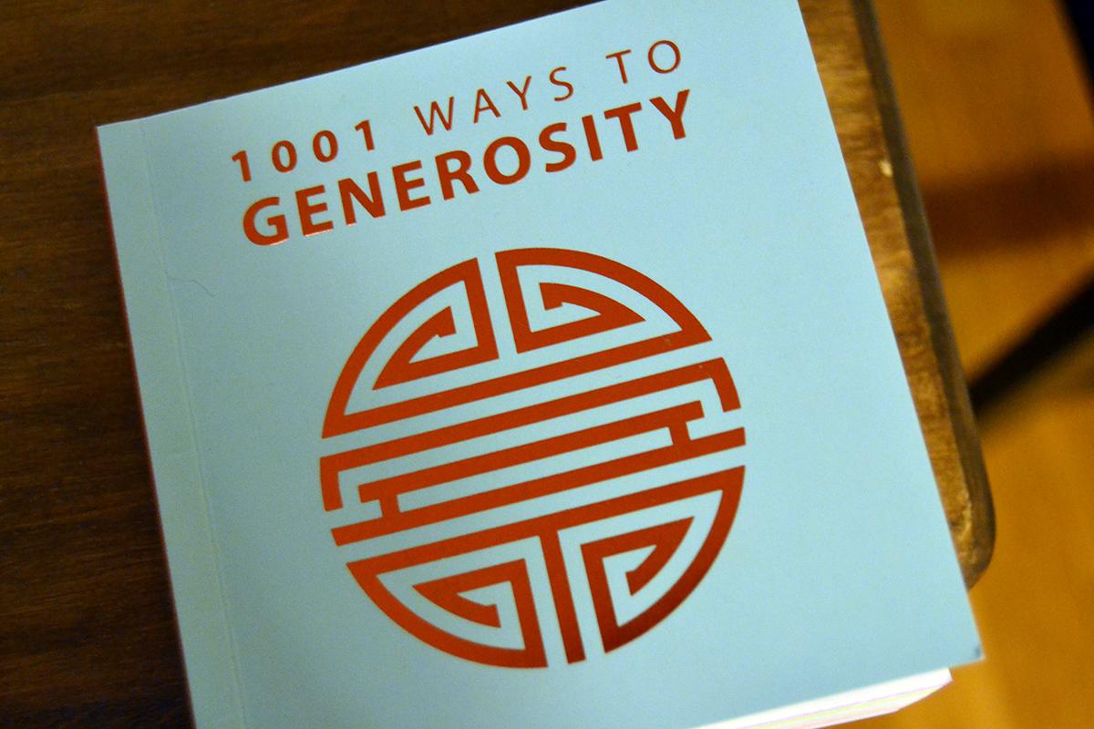 Veckans utmaning: Bli mera generös
