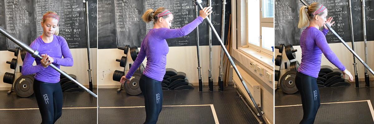 Övningsalternativ vid ont i armarna