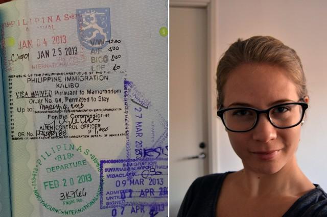glasögon och pass