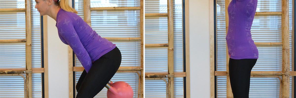 Veckans övning: Kettlebellsving