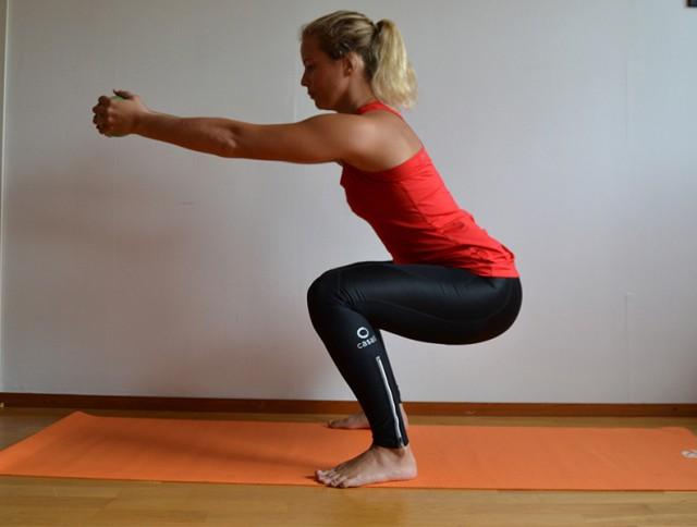 övningar med gummiband