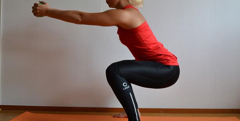 Veckans övning: Knäböj för snygga och starka ben